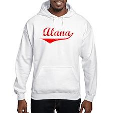 Alana Vintage (Red) Hoodie Sweatshirt