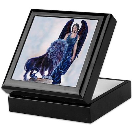 Black Lion Keepsake Box
