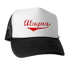 Alayna Vintage (Red) Trucker Hat
