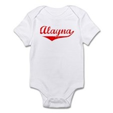 Alayna Vintage (Red) Infant Bodysuit