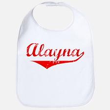 Alayna Vintage (Red) Bib