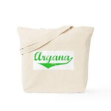 Aryana Vintage (Green) Tote Bag