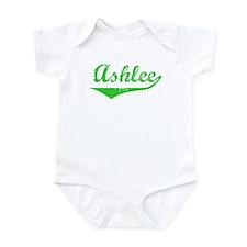 Ashlee Vintage (Green) Onesie