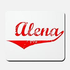 Alena Vintage (Red) Mousepad