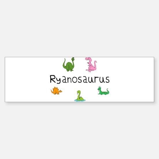 Ryanosaurus Bumper Bumper Stickers