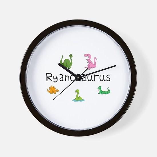 Ryanosaurus  Wall Clock