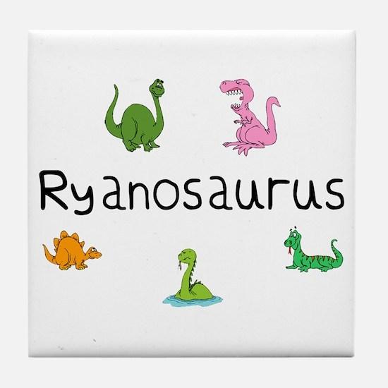 Ryanosaurus  Tile Coaster