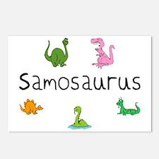 Samosaurus  Postcards (Package of 8)