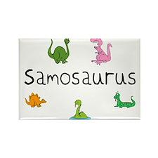 Samosaurus Rectangle Magnet