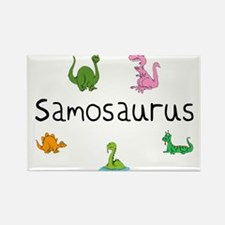 Samosaurus Rectangle Magnet