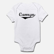 Camryn Vintage (Black) Infant Bodysuit