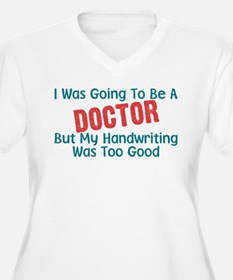 Nurse Humor Doctor's Handwriting T-Shirt