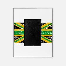 Jamaican British Flag Picture Frame