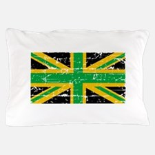 Jamaican British Flag Pillow Case