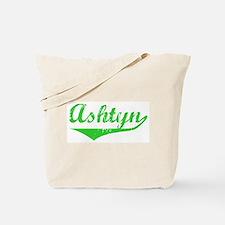 Ashtyn Vintage (Green) Tote Bag