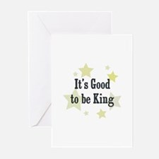 It's Good to be King Greeting Cards (Pk of 10)
