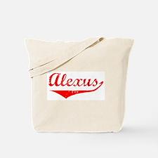 Alexus Vintage (Red) Tote Bag