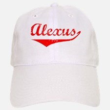Alexus Vintage (Red) Baseball Baseball Cap