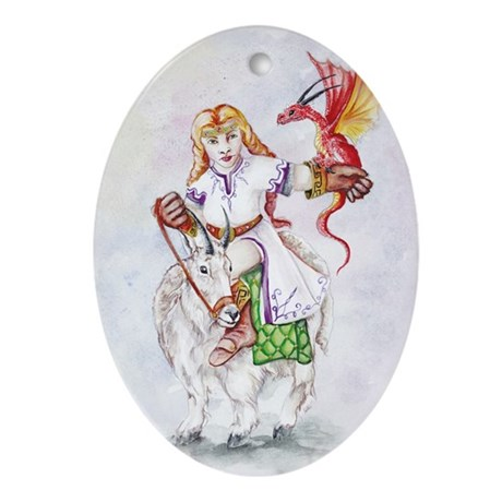 Gwylienne, Dwarf Princess Oval Ornament