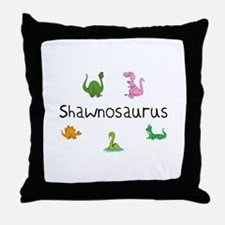 Shawnosaurus Throw Pillow