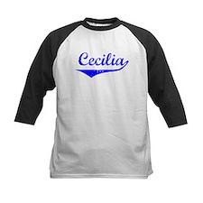 Cecilia Vintage (Blue) Tee