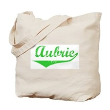 Aubrie Vintage (Green) Tote Bag