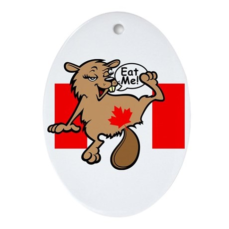 Beaver - Colour + Flag Tiny + Maple Leaf Keepsake