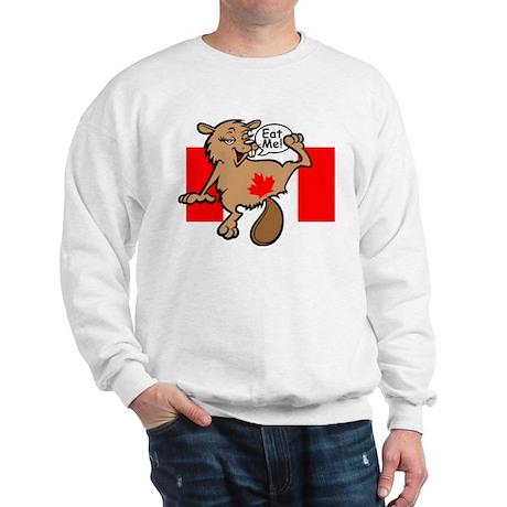 Beaver - Colour + Flag Tiny + Maple Leaf Sweatshir