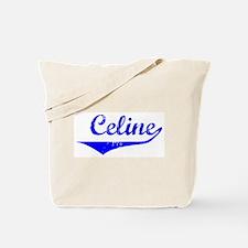 Celine Vintage (Blue) Tote Bag