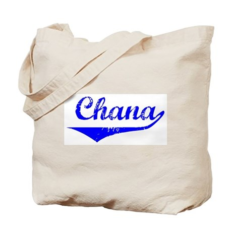 Chana Vintage (Blue) Tote Bag