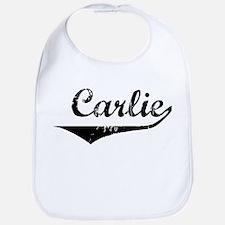 Carlie Vintage (Black) Bib