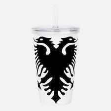 albanian_eagle.png Acrylic Double-wall Tumbler