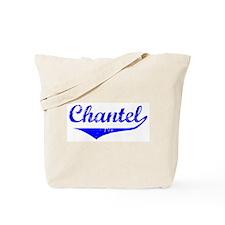 Chantel Vintage (Blue) Tote Bag