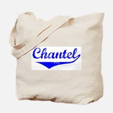 Chantel Vintage (Blue) Tote Bag