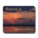 Heaven Here and Now - Square Mousepad