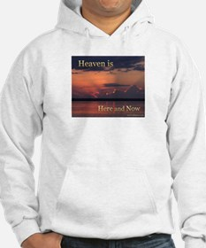 Heaven Here and Now - Square Hoodie