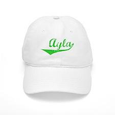 Ayla Vintage (Green) Cap