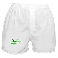 Aylin Vintage (Green) Boxer Shorts