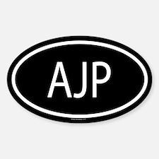 AJP Oval Decal