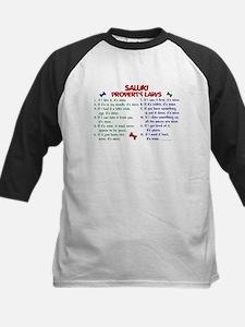 Saluki Property Laws 2 Kids Baseball Jersey