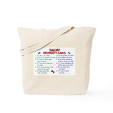 Saluki Property Laws 2 Tote Bag