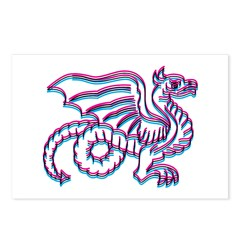 Sweet Dragon Postcards (Package of 8)