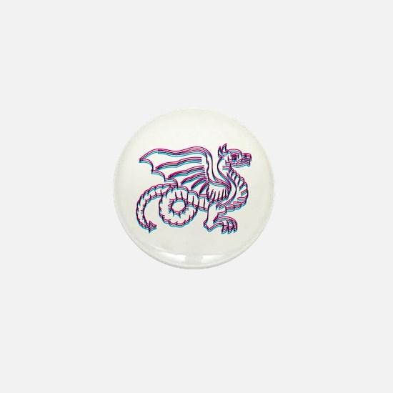 Sweet Dragon Mini Button
