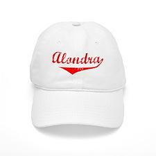 Alondra Vintage (Red) Baseball Cap
