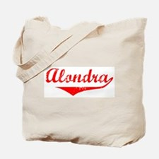 Alondra Vintage (Red) Tote Bag