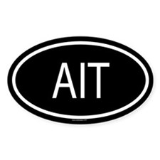 AIT Oval Decal