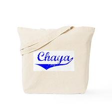 Chaya Vintage (Blue) Tote Bag
