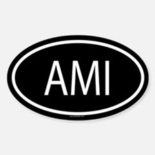 AMI Oval Bumper Stickers