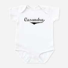 Casandra Vintage (Black) Infant Bodysuit