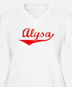 Alysa Vintage (Red) T-Shirt